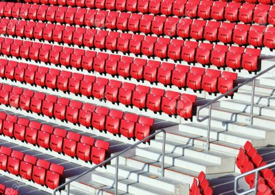 Heated Stadium Seating